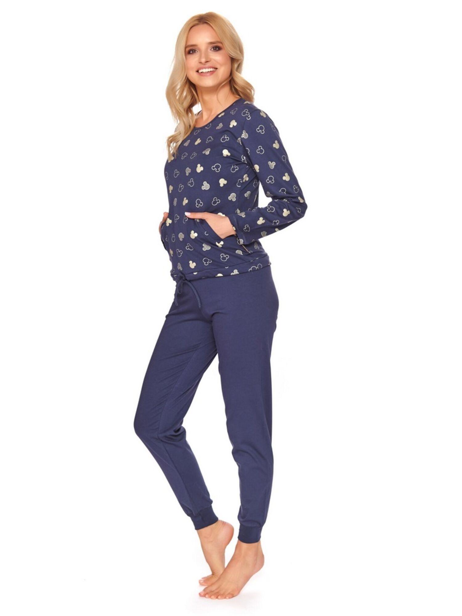 Пижама женская со штанами 4121 PM, синий, DOCTOR NAP