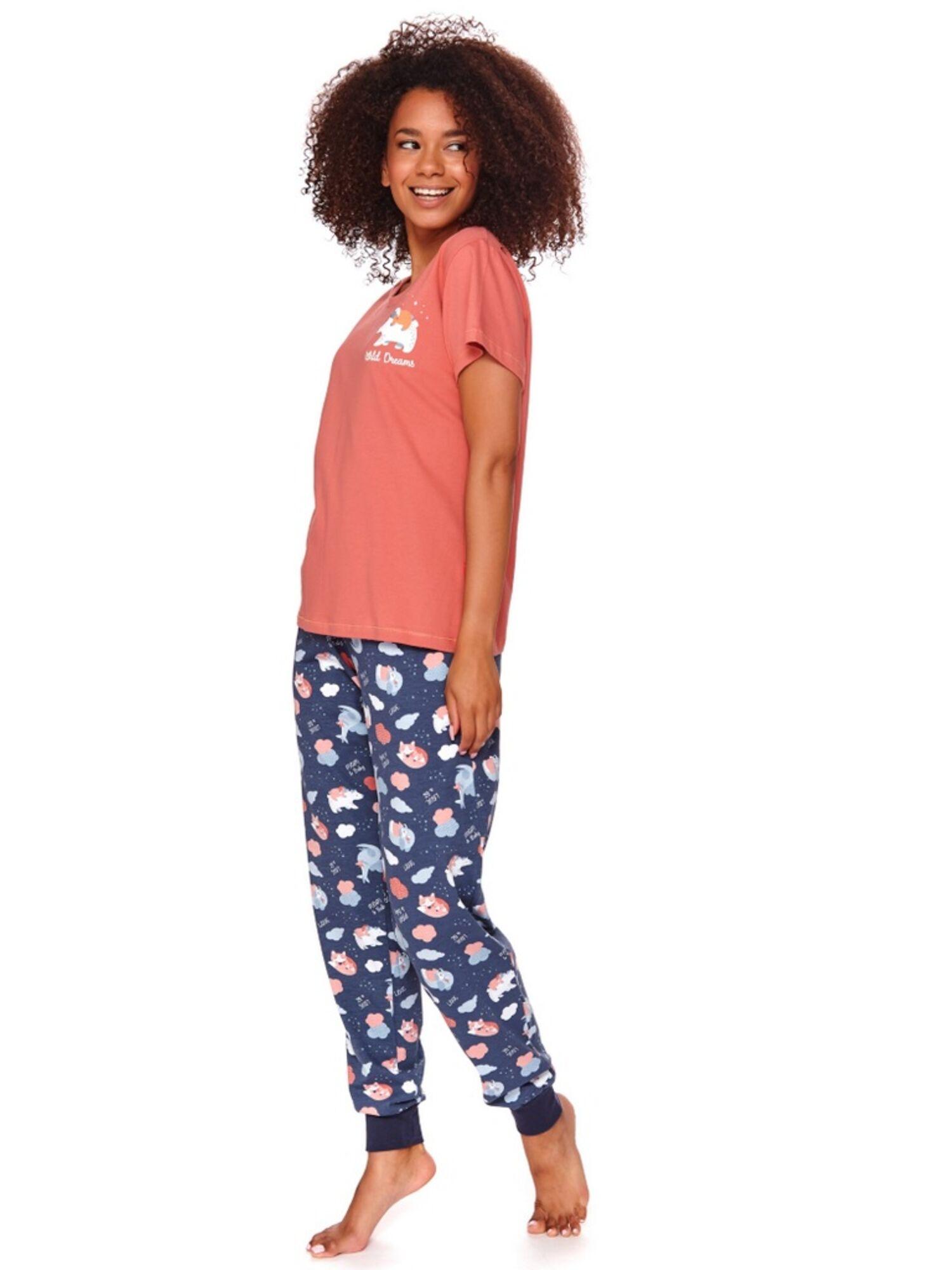 Пижама женская со штанами 4120 PM, розовый, DOCTOR NAP