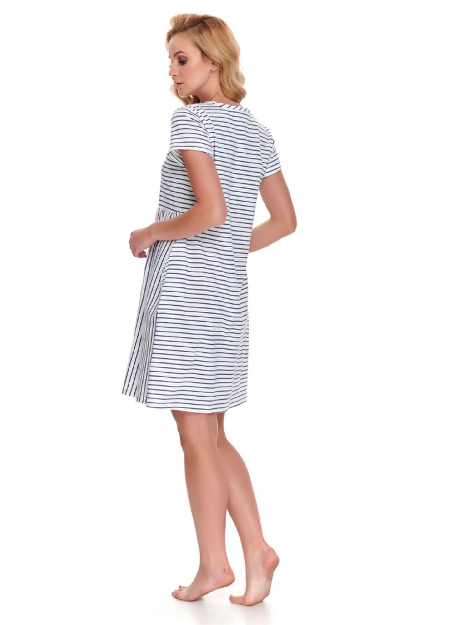 Сорочка женская хлопковая 9928 TCB, белый, DOCTOR NAP