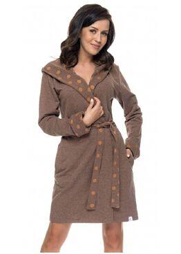Халат SDW6074 коричневый