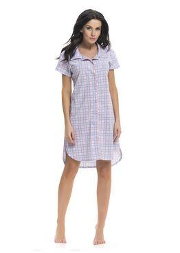 Сорочка TCB7030 BONJOUR серый/розовый