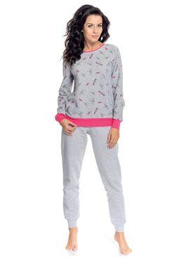 Пижама PD.8066 серый