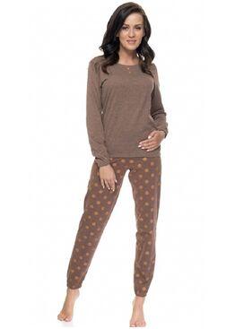 Пижама PM9089 POLA коричневый