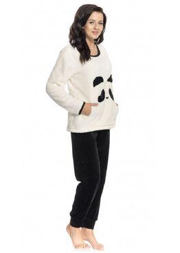 Пижама PS.9160 экри/черный