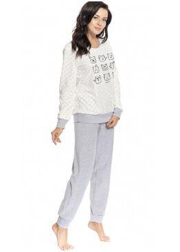 Пижама PW9164-экри/серый