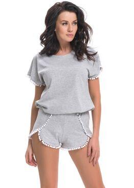 Пижама PM9249 серый
