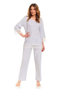Пижама PB.9376 серый
