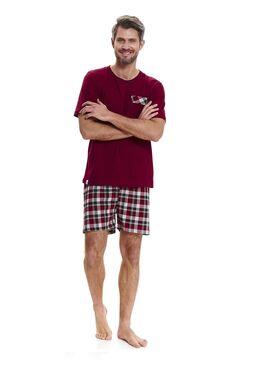 Пижама 9471 PMB красный