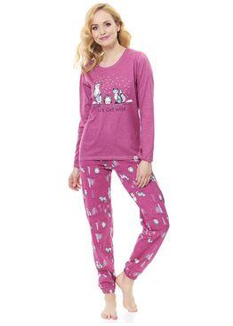 Пижама женская 9506 PM лиловый