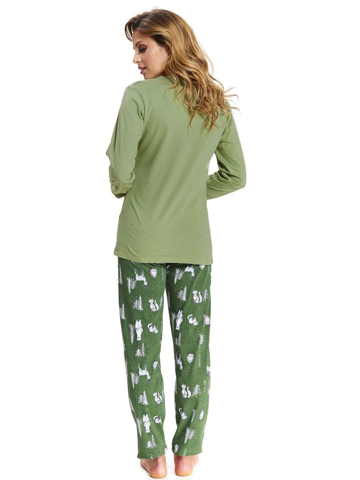 Пижама женская 9506 PM зеленый