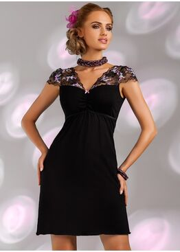 Сорочка ISMENA черный