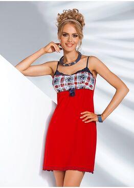 Сорочка SALSA красный