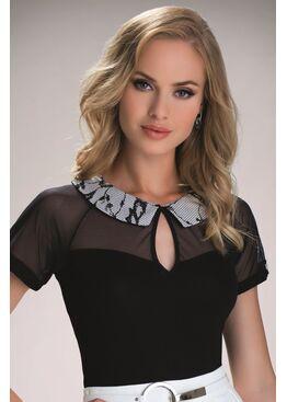 Блузка ANASTAZJA черный