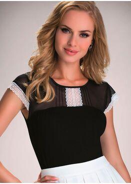 Блузка ELEN черный