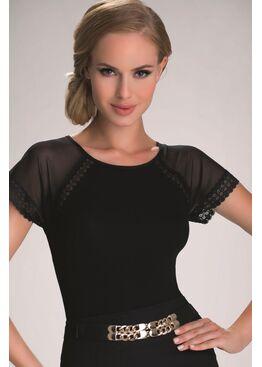 Блузка ELMA черный
