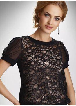Блузка Fiorella черный