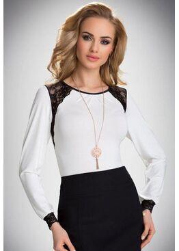 Блузка HILARY молочный
