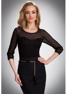 Блузка ISADORA черный
