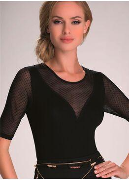 Блузка JULIET черный