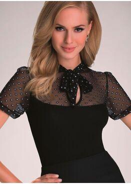 Блузка MATILDA черный