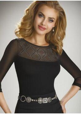 Блузка Mela черный