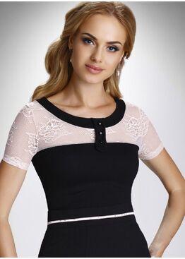 Блузка Oktawia черный
