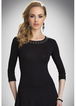 Блузка REBECA черный