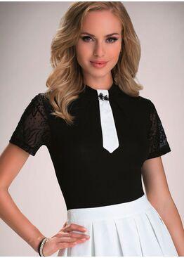Блузка RUBY черный