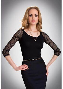 Блузка ULA черный