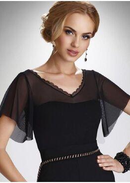 Блузка Karolina черный