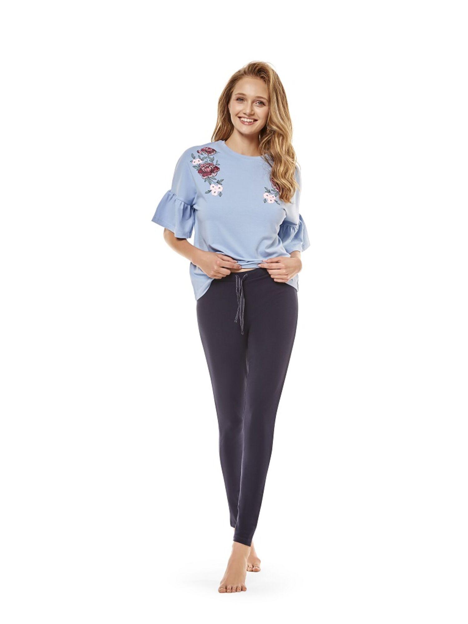 Пижама женская 36239 CRAFTY голубой