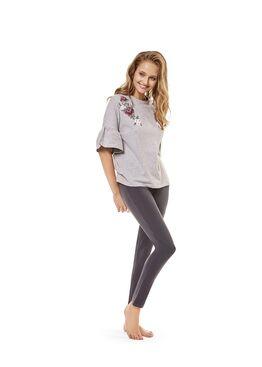Пижама женская 36239 CRAFTY серый