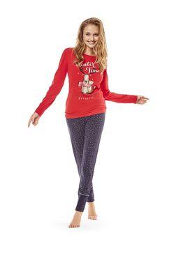 Пижама женская 36510 CATCH красный