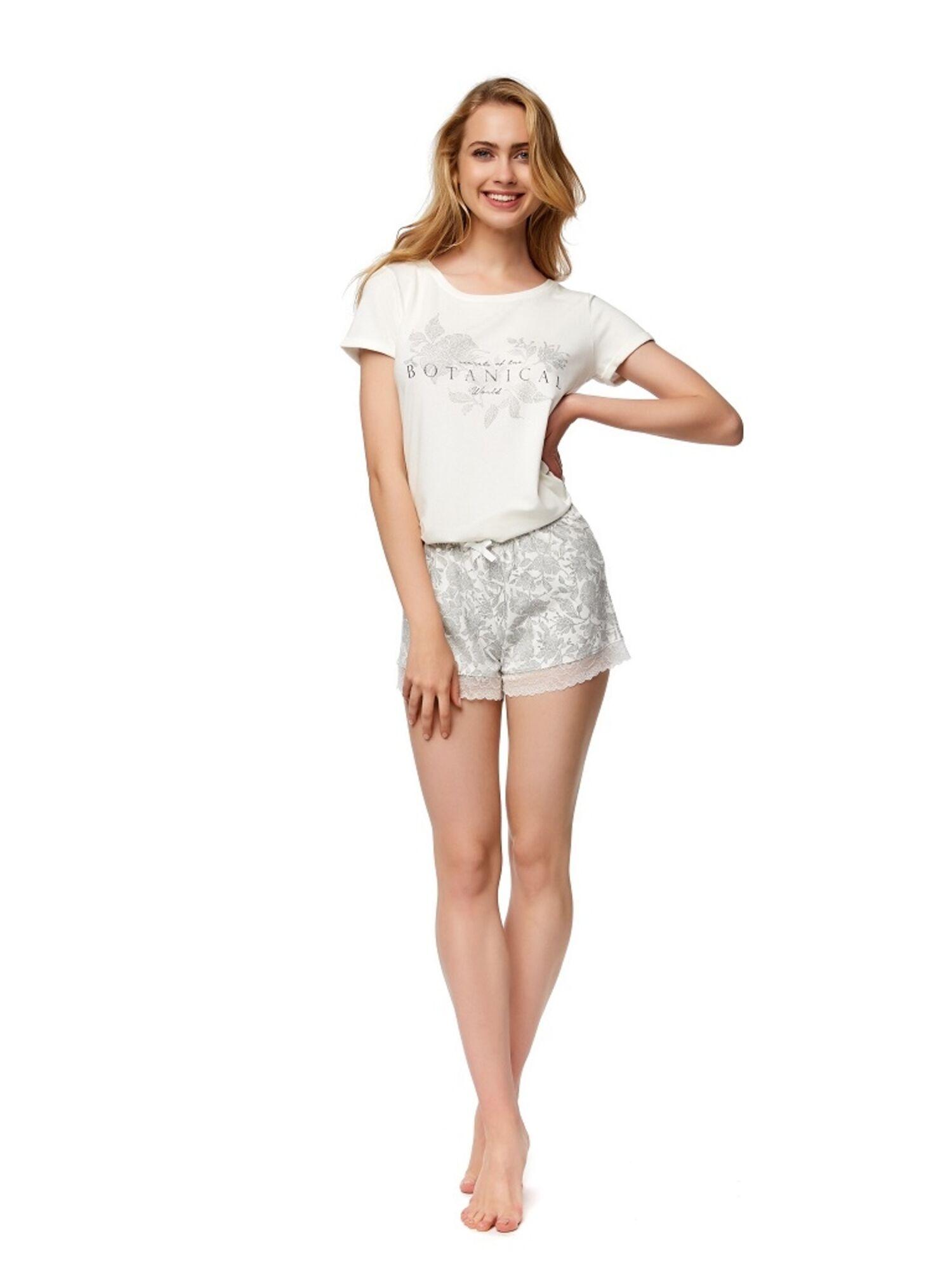 Пижама женская с шортами 37372 NOTES2, Esotiq