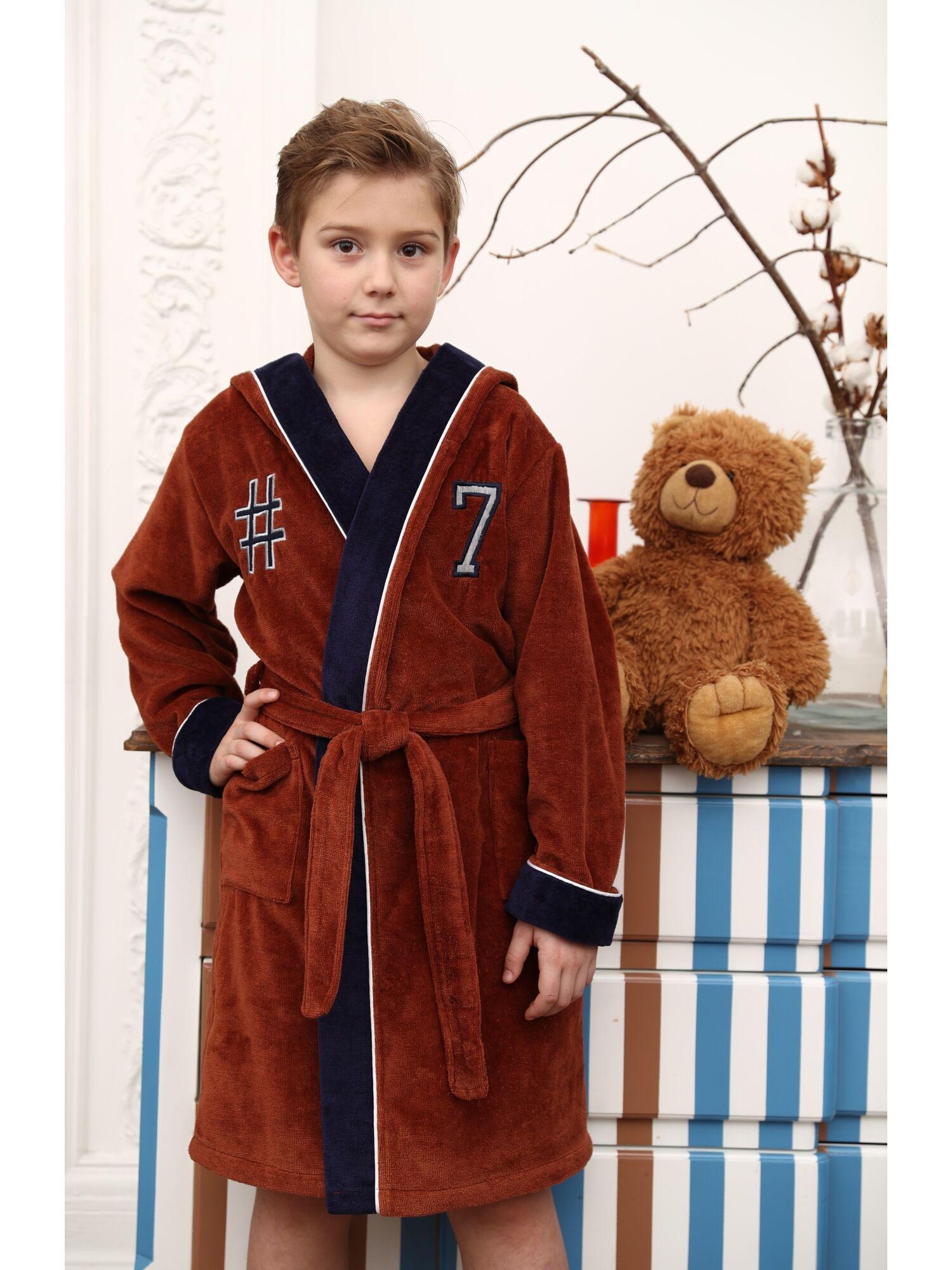 Подростковый халат Seven (camel)