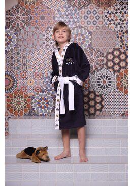 Детский халат Puppy (Navy) 10 лет