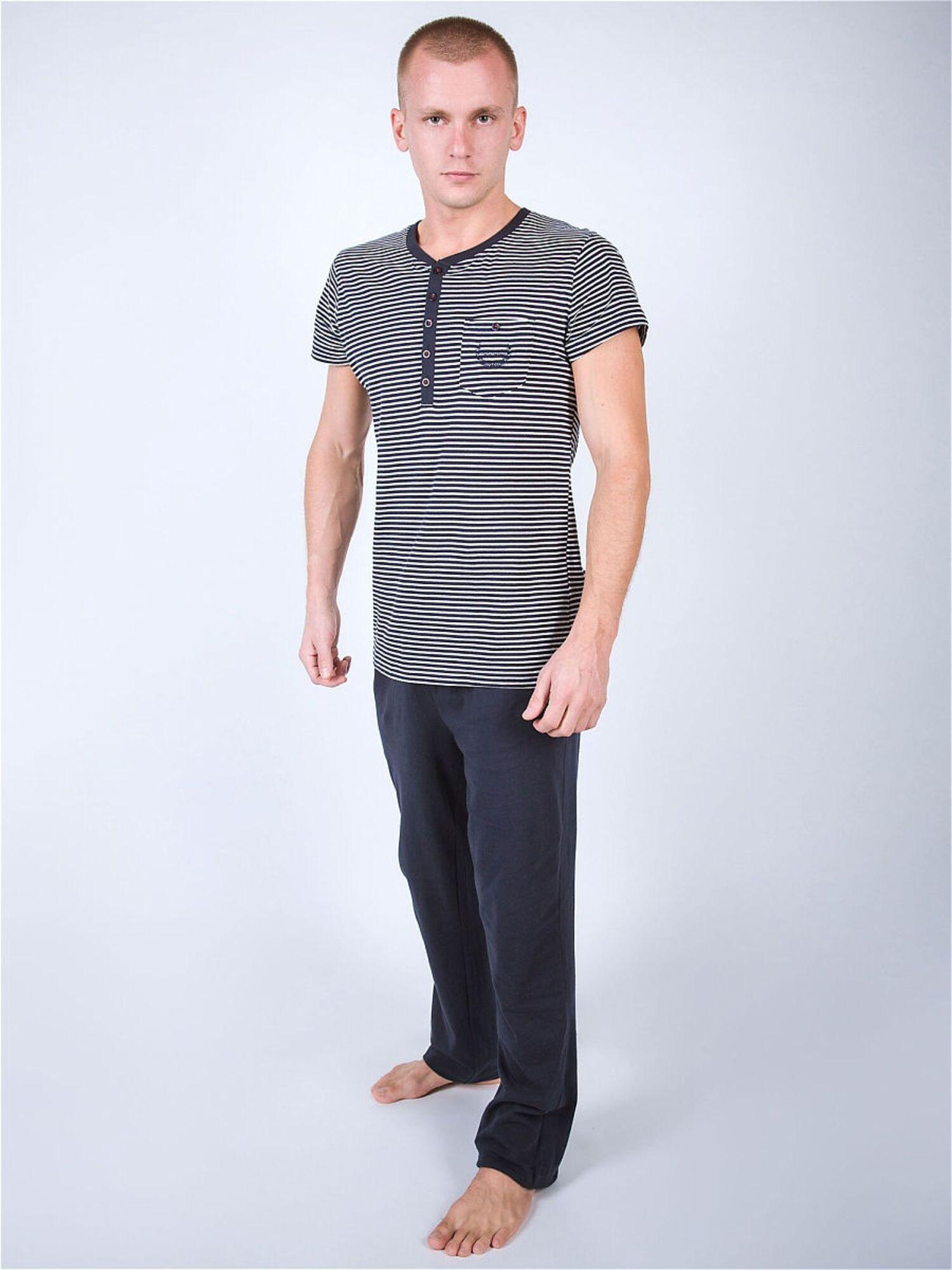Комплект мужской с брюками PJ002 сений, Gentlemen