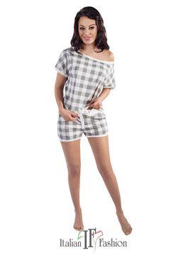 Пижама женская ADEL серый