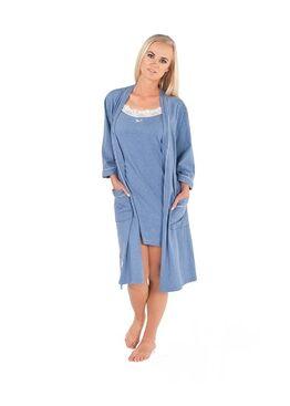 Сорочка женская BIANCA синий