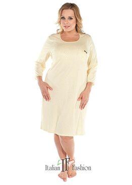 Сорочка женская ELZBIETA желтый