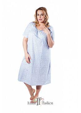 Сорочка HALINA голубой