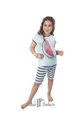 Пижама детская RACHEL зеленый/синий. Italian Fashion (Польша)