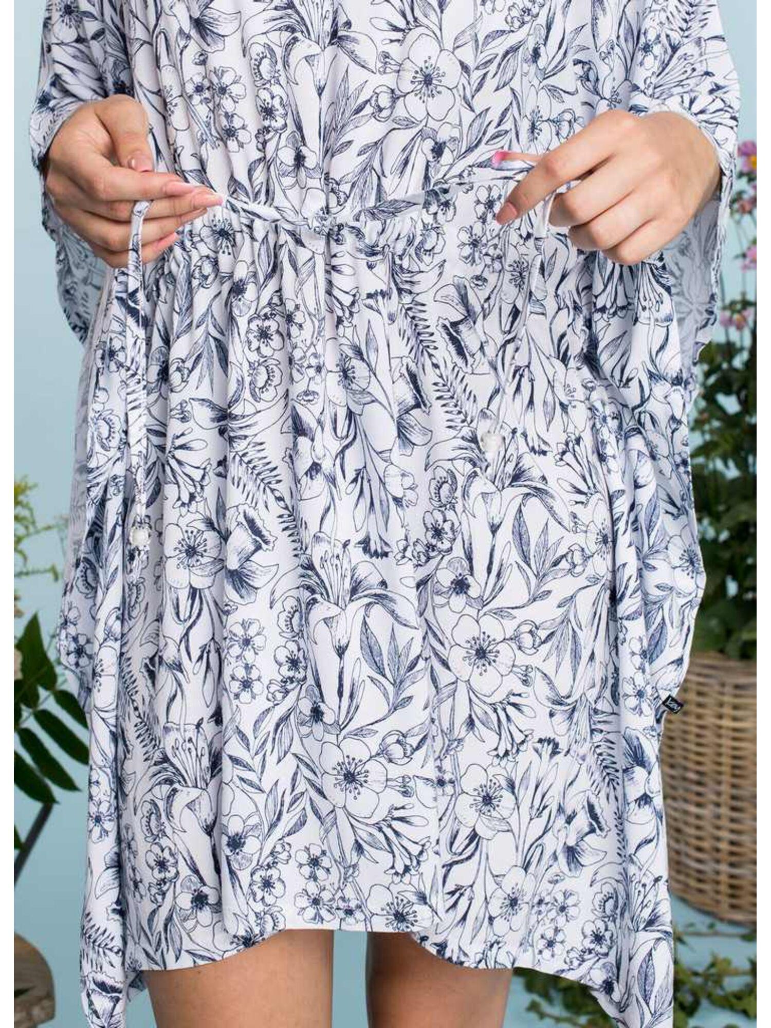 Платье женское LHT 913 A20, белый, KEY