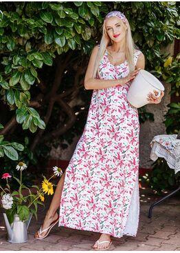 Платье женское бамбуковое LHD 505 A20, KEY