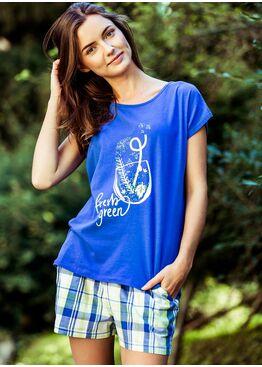 Пижама LNS 470 синий