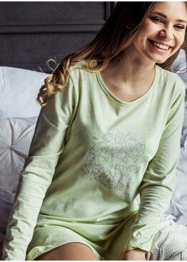 Сорочка LND 073 зеленый