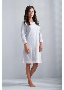 Сорочка 074 серый