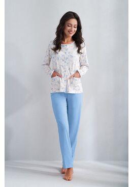 Пижама 536 голубой