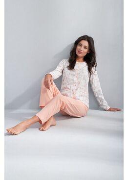 Пижама 536 персиковый