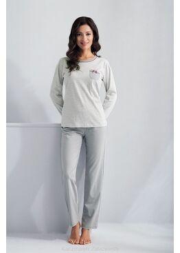 Пижама 620 серый